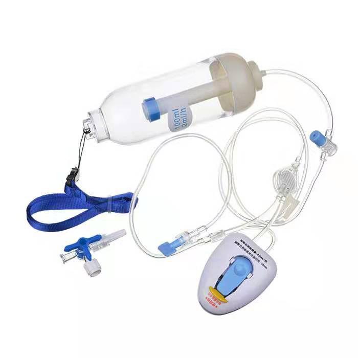 荣业 一次性使用输注泵 持续给液CBI+自控给液PCA (80个/箱)