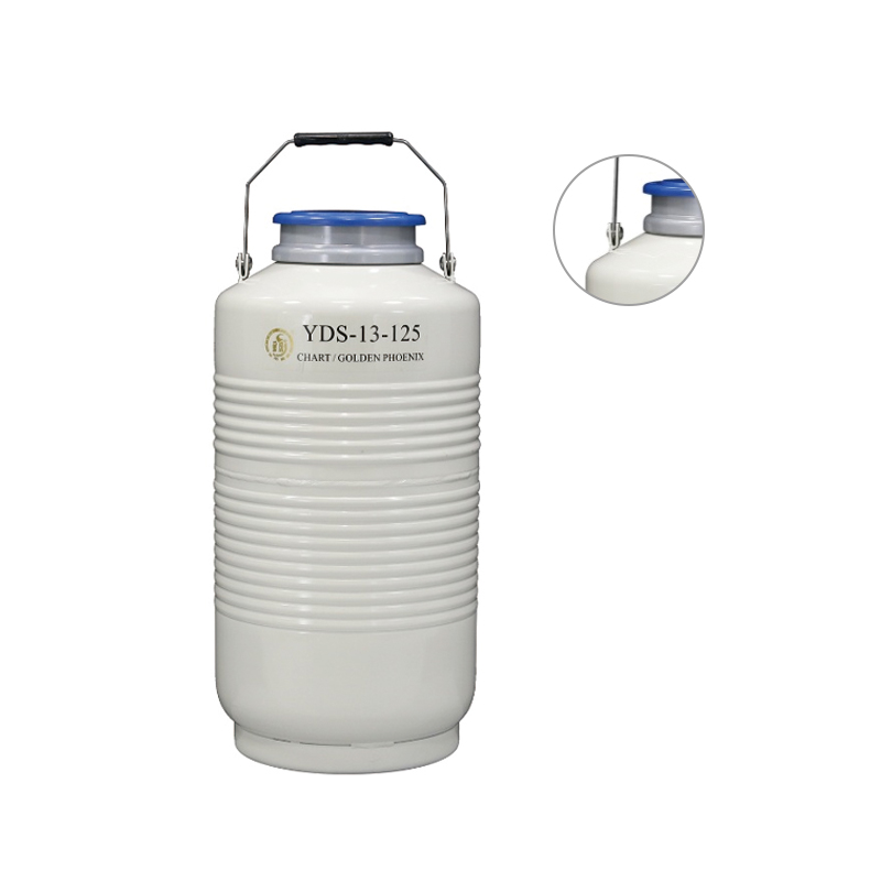 金凤 小容积大口径液氮生物容器  YDS-13-125优等品