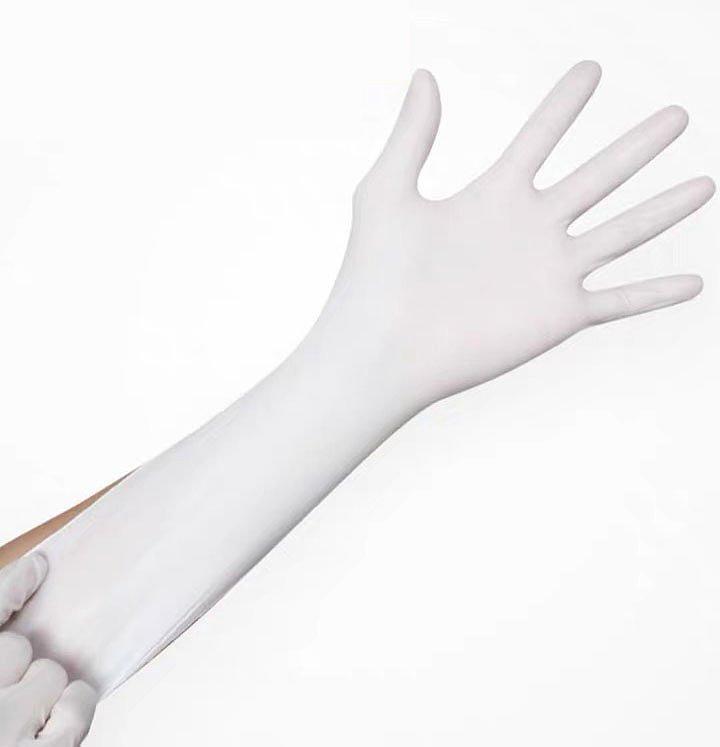 贝佳一 医用检查手套 M  乳胶无粉麻面 (100只/盒 ,20盒/箱)产品优势