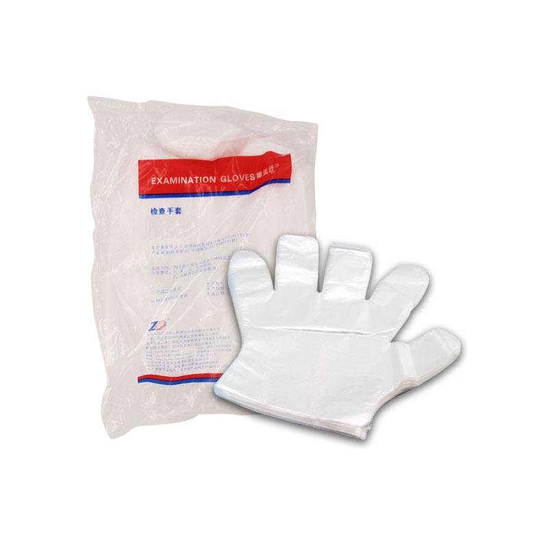 振德 检查手套 PE手套 普通级中号M(100只/袋,100袋/箱)