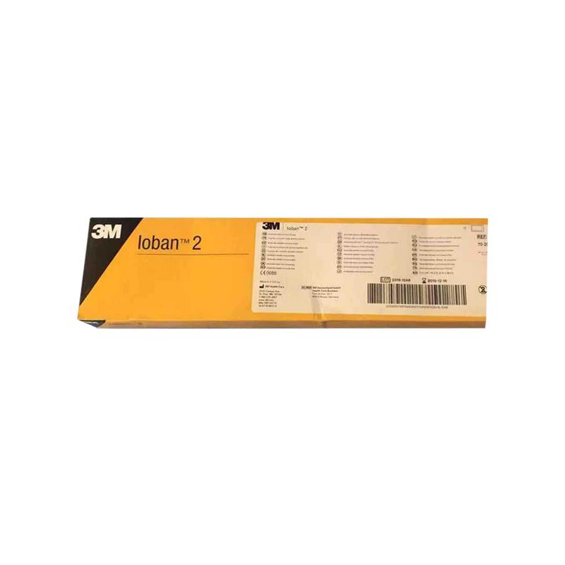 3M 抗菌手术薄膜(含碘)56cm×45cm  6650(10片/盒 4盒/箱)