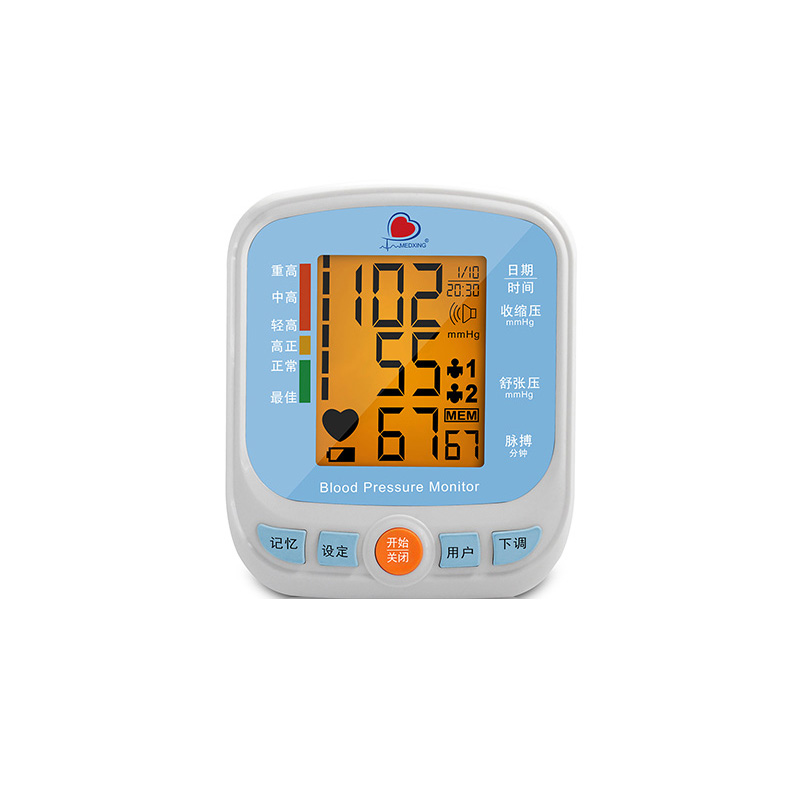 美的连 MedLinket 臂式电子血压计 ESM201B