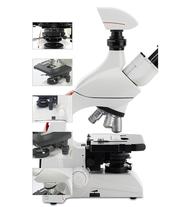 Leica徕卡 生物显微镜 DM500(双目)产品细节