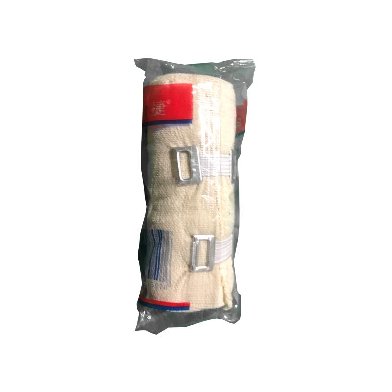 振德 弹性绷带 10×450cm Ⅱ型 白色 松紧扣(1卷/包 12包/盒 20盒/箱)