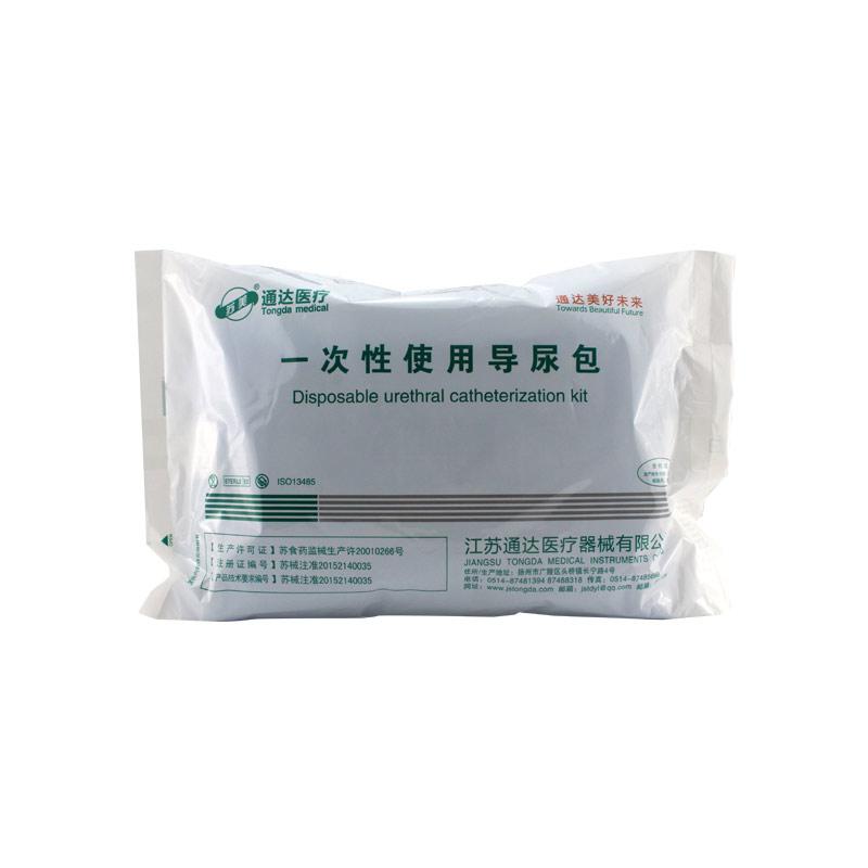 苏美 一次性使用导尿包 硅胶双腔 Fr18(50包/箱)