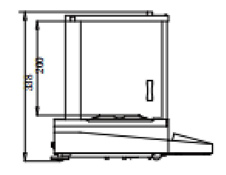 上海恒平 电子分析天平 FA1004产品结构