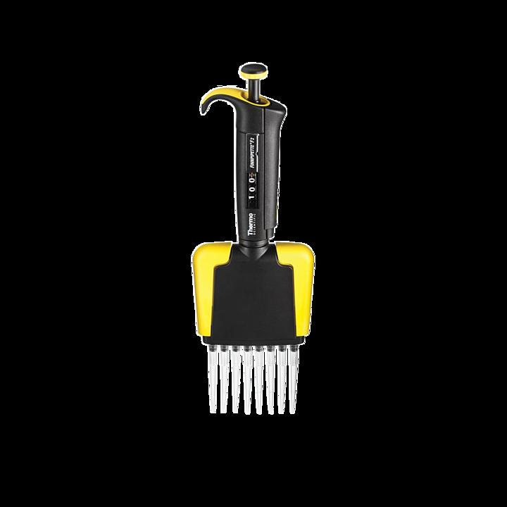 赛默飞世尔 Thermo Finnpipette F2 十二道移液器 黄色 100ul  4662060基本信息