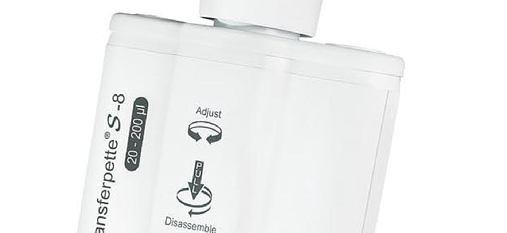 普兰德 Brand Transferpette S-8数字可调量程八道移液器20-200μl 705910产品细节