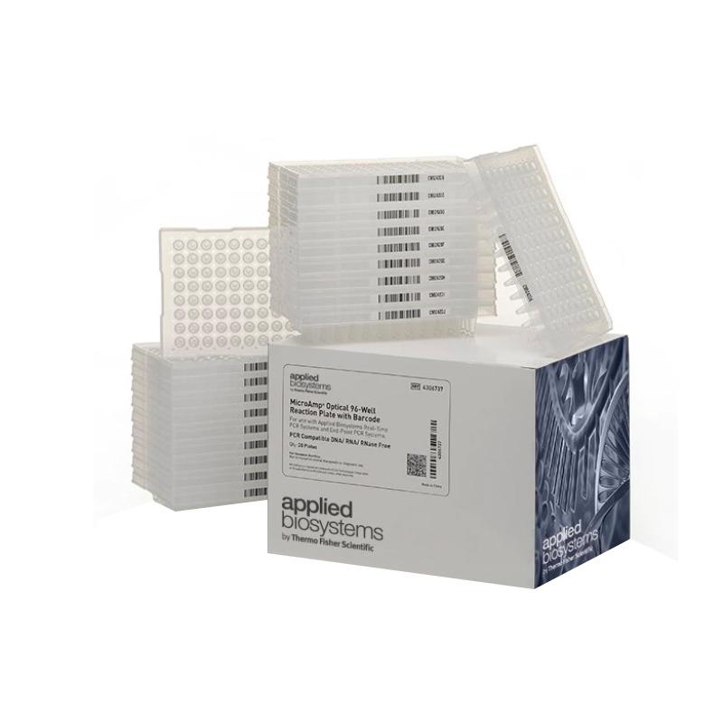ABI 带条形码MicroAmp™96孔PCR板-0.2ml 20块 4306737
