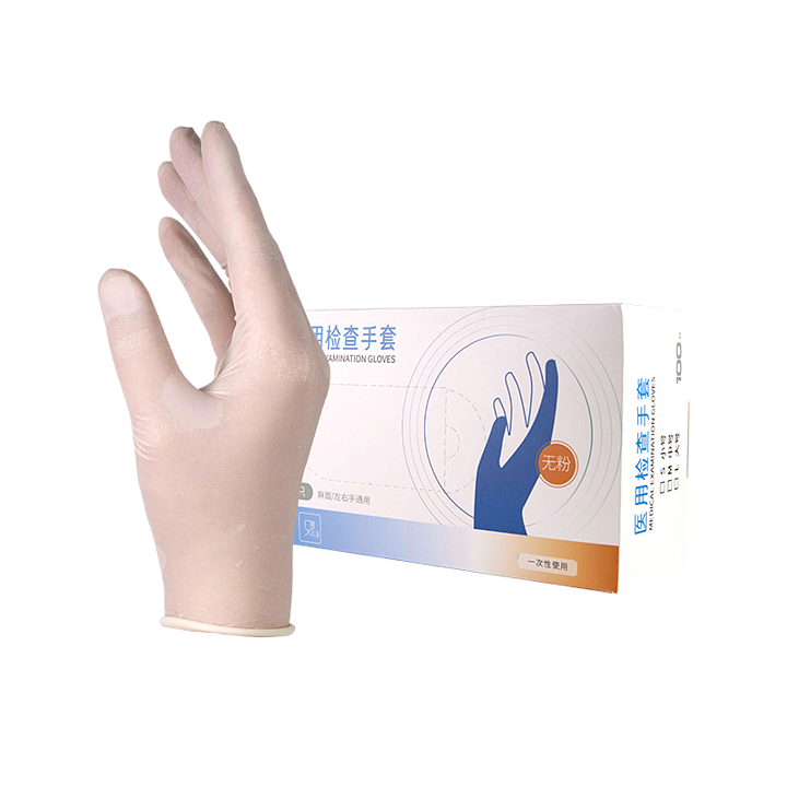 贝佳一 医用检查手套 S 乳胶无粉麻面 (100只/盒 ,20盒/箱)基本信息