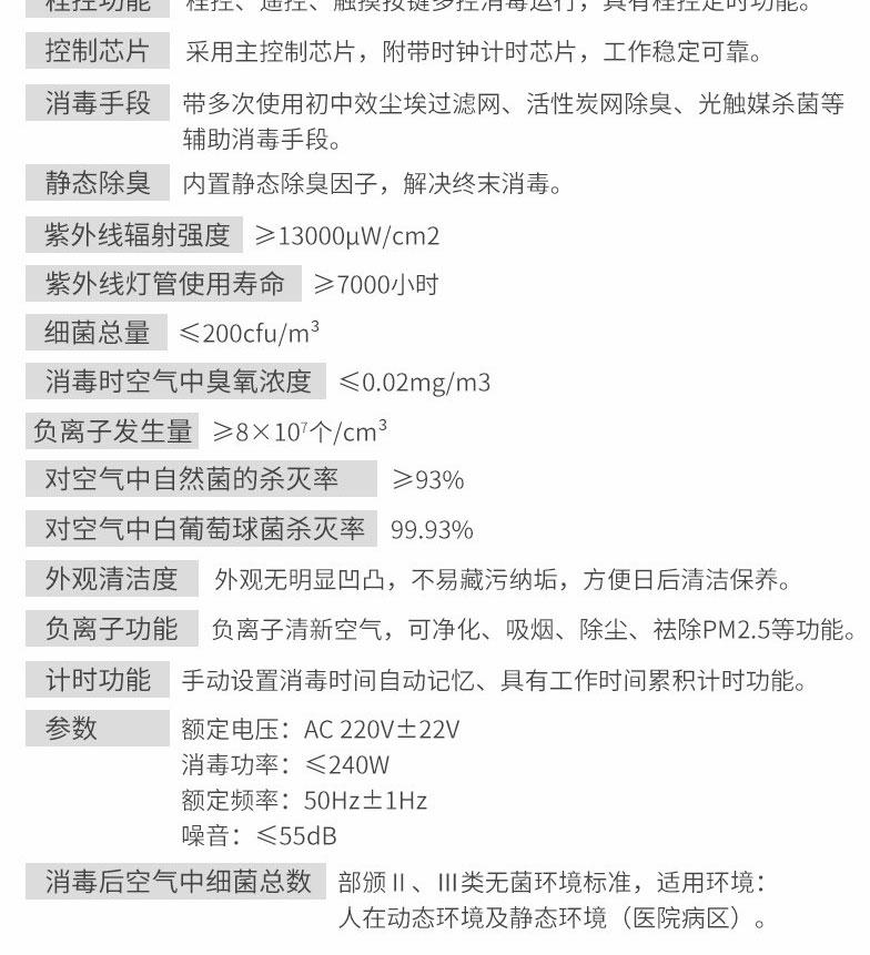 净为康JWK-紫外线空气净化消毒机-(柜式150m³)JWKXD-ZIII_08.jpg