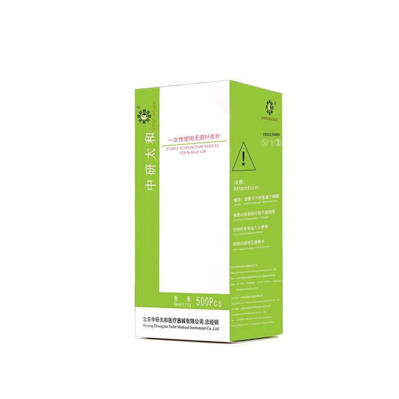 中研太和 一次性使用针灸针  0.16×25mm(500支/盒 100盒/箱)