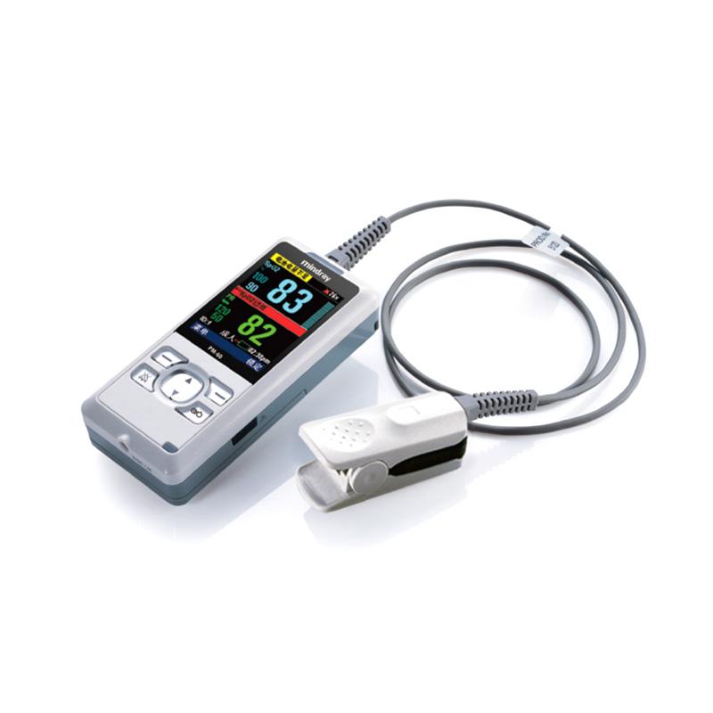 迈瑞Mindray 血氧饱和度监护仪 PM-60(血氧:成人+512E软指套)