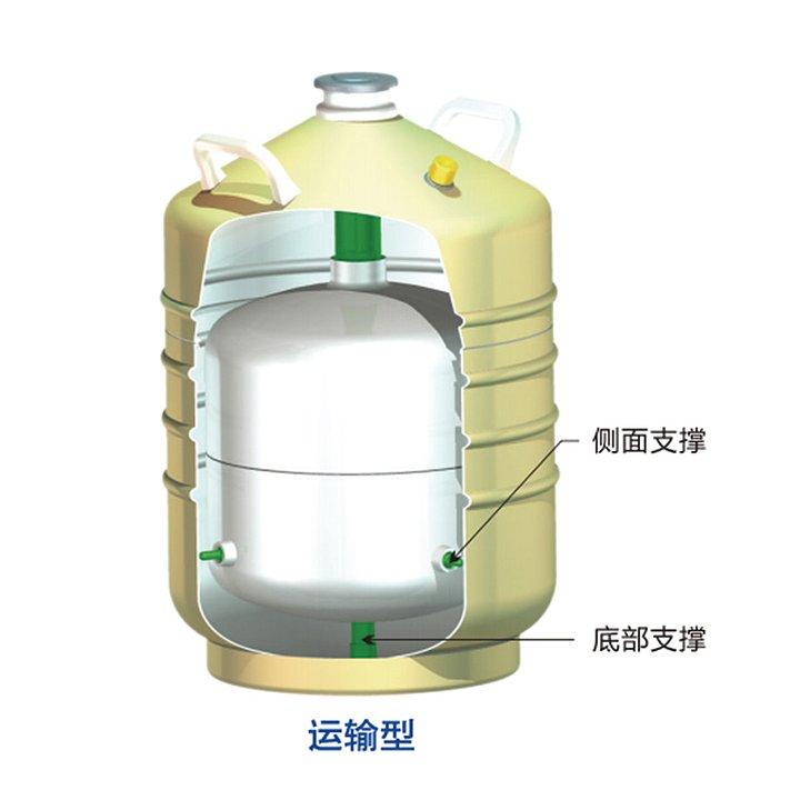 金凤 液氮生物容器运输型  YDS-35B-125优等品产品细节