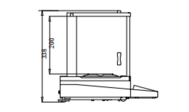 恒平 触摸式彩屏电子天平 AE124产品参数