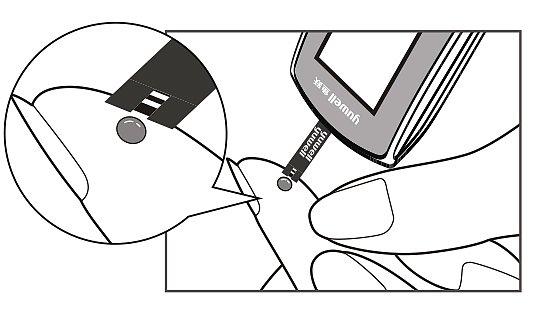 鱼跃yuwell 血糖试纸套装 305A(1+50)使用方法
