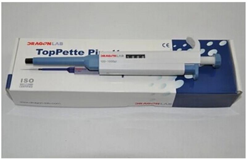 大龙 TopPette手动固定移液器 1000ul 711121270000