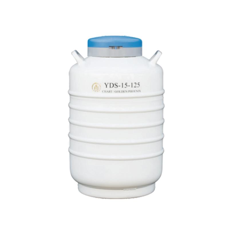 金凤 小容积大口径液氮生物容器   YDS-15-125优等品