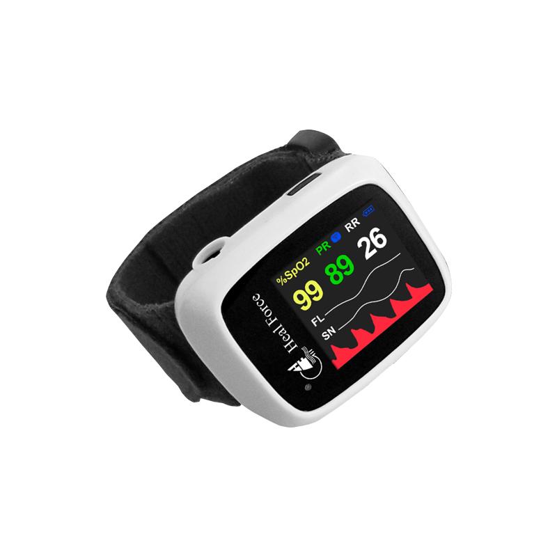 力康Heal Force 脉搏血氧饱和度仪 Prince-100G(口鼻气流版)