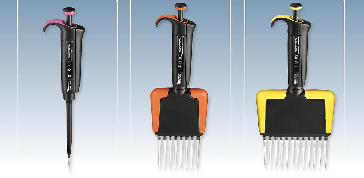 赛默飞世尔 Thermo Finnpipette F2 十二道移液器 黄色 50ul 4662050产品优势