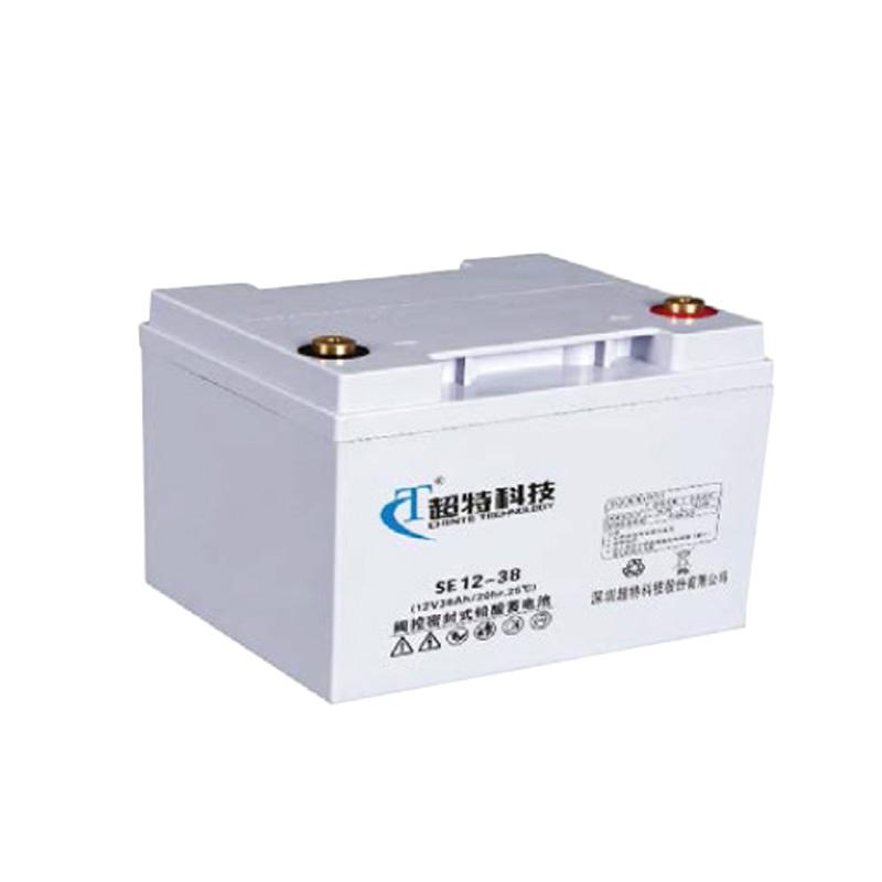 超特  免维护铅酸蓄电池 SE12-38