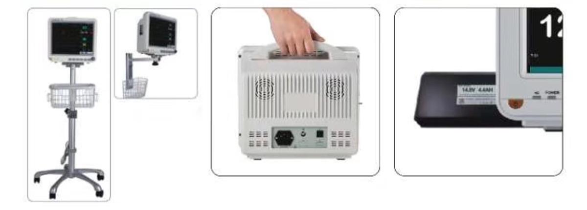 凯进 多参数监护仪 KX8000C产品优势