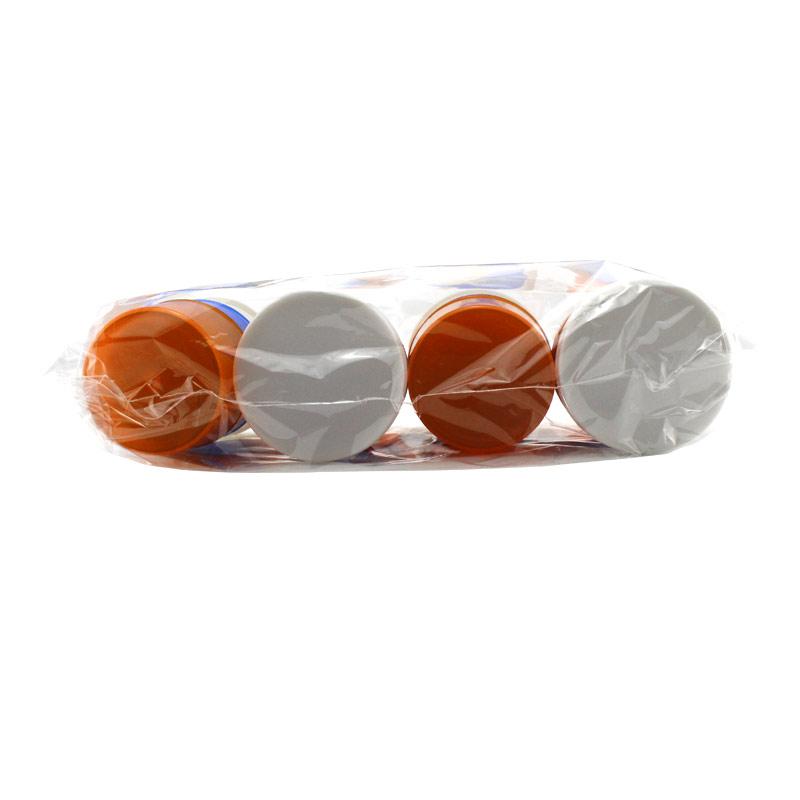 新康XK 三色服药杯 3层 X526 (4套/袋 200袋/箱)