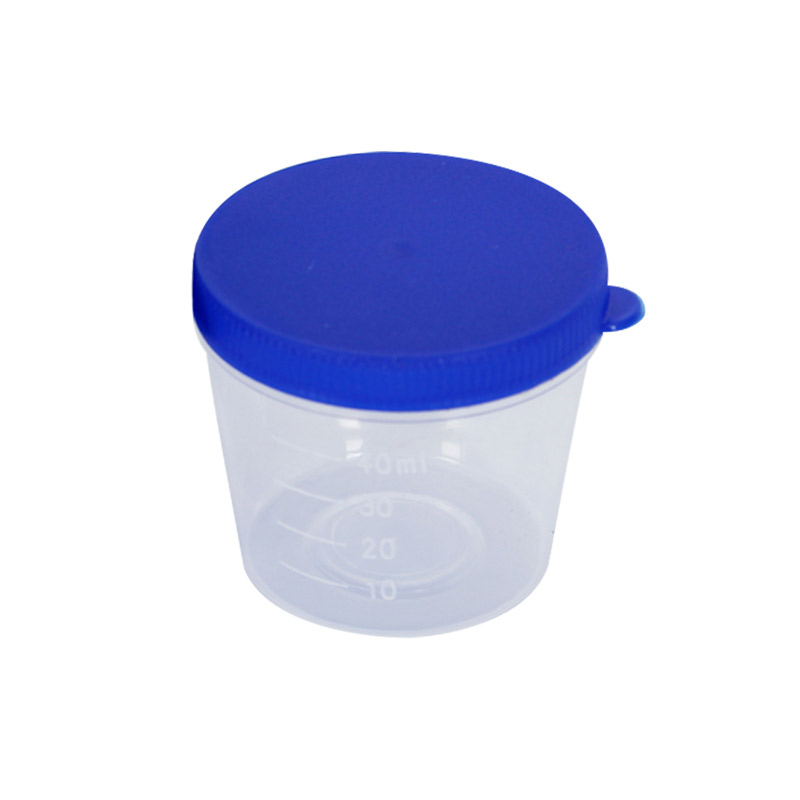新康(XK) 痰杯 40ml X522-1 (螺旋盖)单包消毒 袋装(50只)