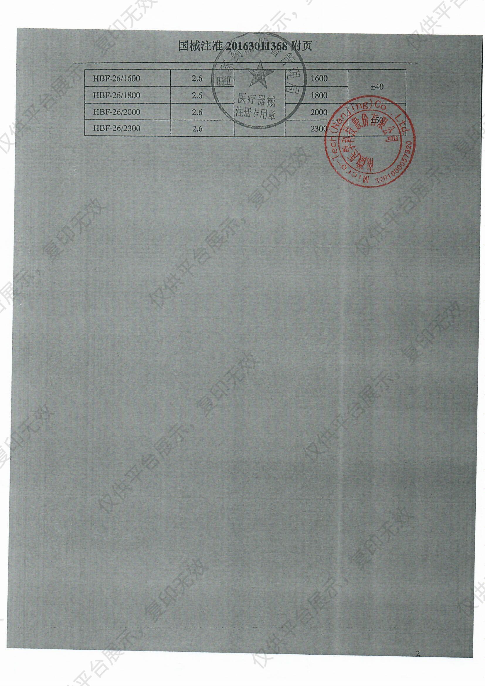 南京微创 热活检钳 φ6.7×2.3mm ×2000mm(100支/箱)注册证
