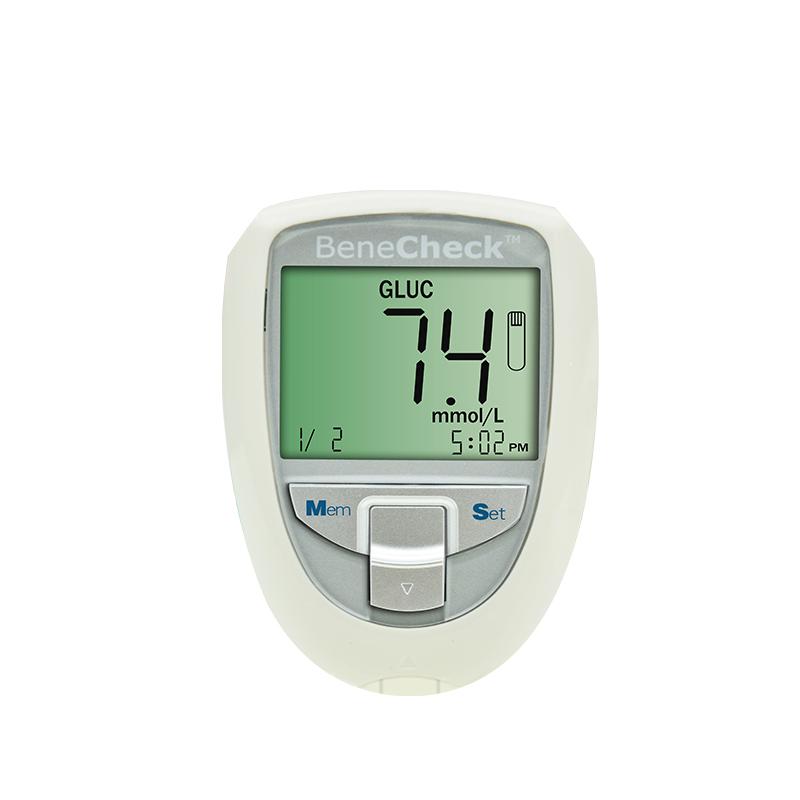 百捷BeneCheck 血糖、尿酸、总胆固醇监测系统 BKM13-1