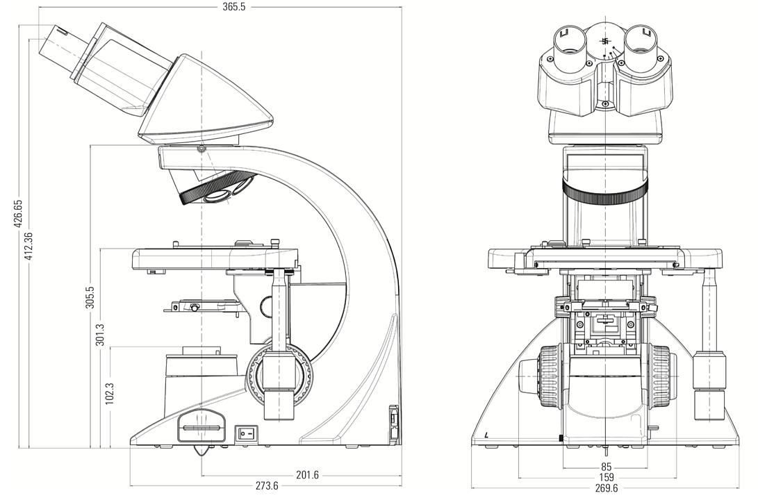 Leica徕卡 DM1000 生物显微镜产品参数