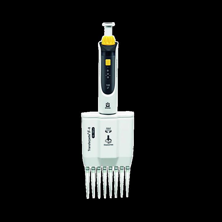 普兰德 Brand Transferpette S-8数字可调量程八道移液器20-200μl 705910基本信息
