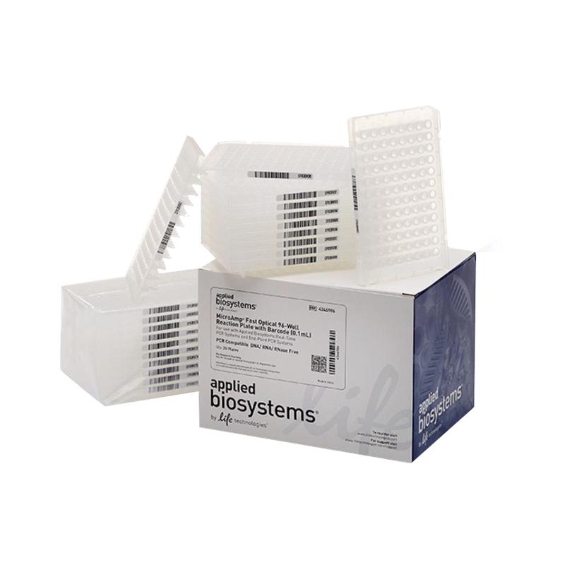 ABI 带条形码MicroAmp™ Fast 96孔PCR板-0.1ml 20块 4346906