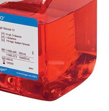 Gibco DMEM 高糖,含丙酮酸盐,500 mL C11995500BT产品优势