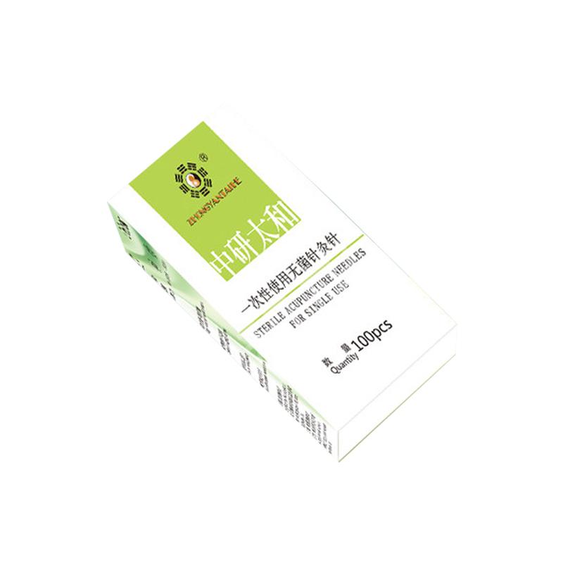 中研太和 一次性使用无菌针灸针 0.25×25 一针一管 (100支/盒)
