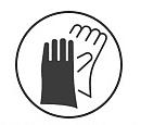 贝佳一 医用检查手套 M号 乳胶手套 无粉 麻面 (100只/盒 ,20盒/箱)使用方法
