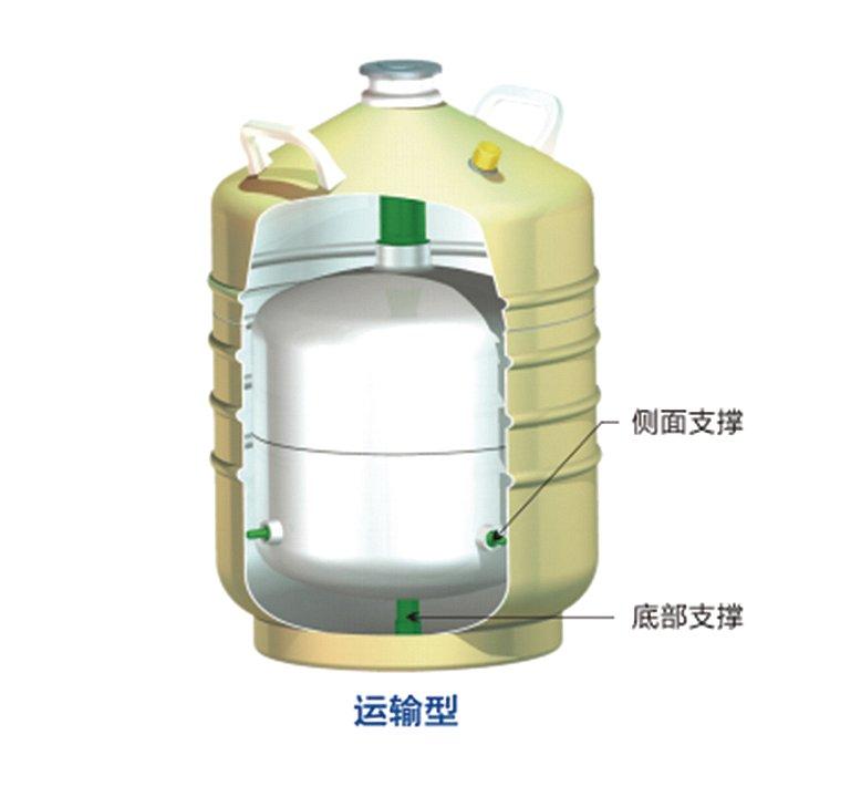 金凤 液氮生物容器运输型 YDS-50B-200产品细节