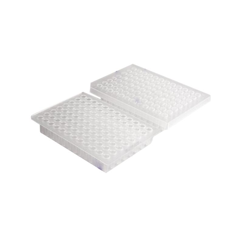 乐斐 LAVIBE PCR板 0.2毫升半裙边无色非灭菌 2244030002