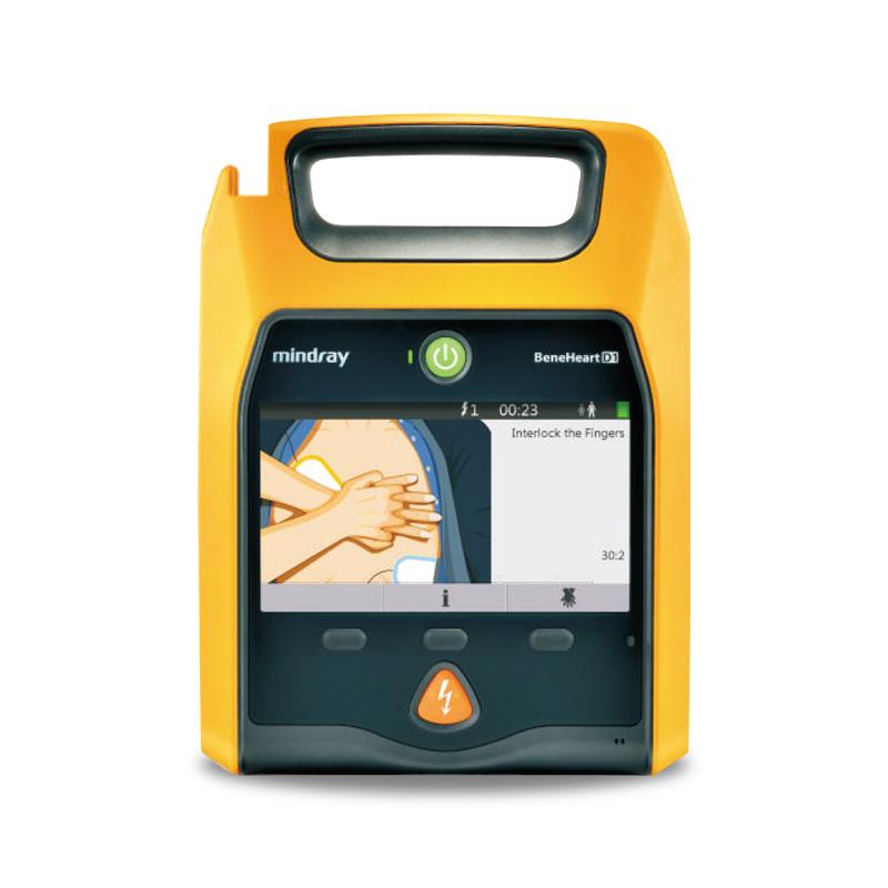 迈瑞Mindray 自动体外除颤仪公共版 BeneHeart D1 (AED) +4G模块