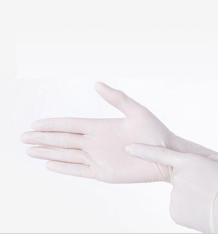 贝佳一 医用检查手套 L  乳胶无粉麻面 (100只/盒 ,20盒/箱)产品优势