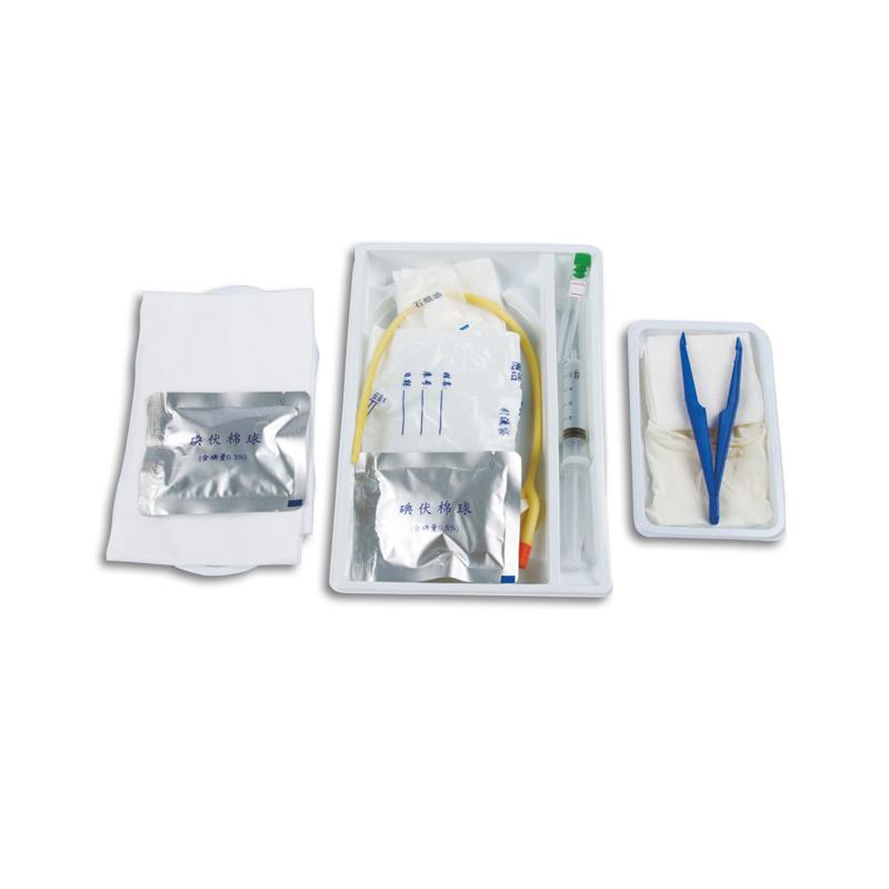 伟康 一次性使用导尿包 F16 硅胶 双腔 个装 (1个)